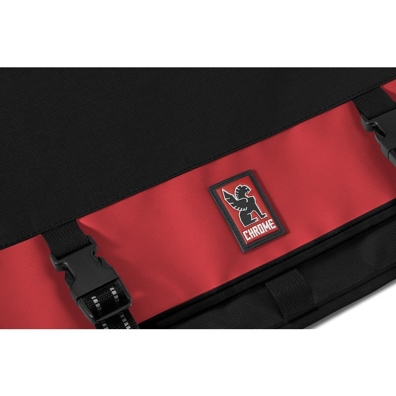 Chrome Mini Metro Messenger Bag | Black/Red