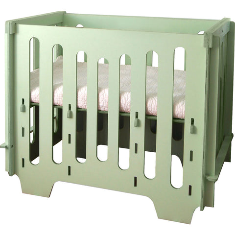 noninoni kids The Noni Mini Crib + Mattress