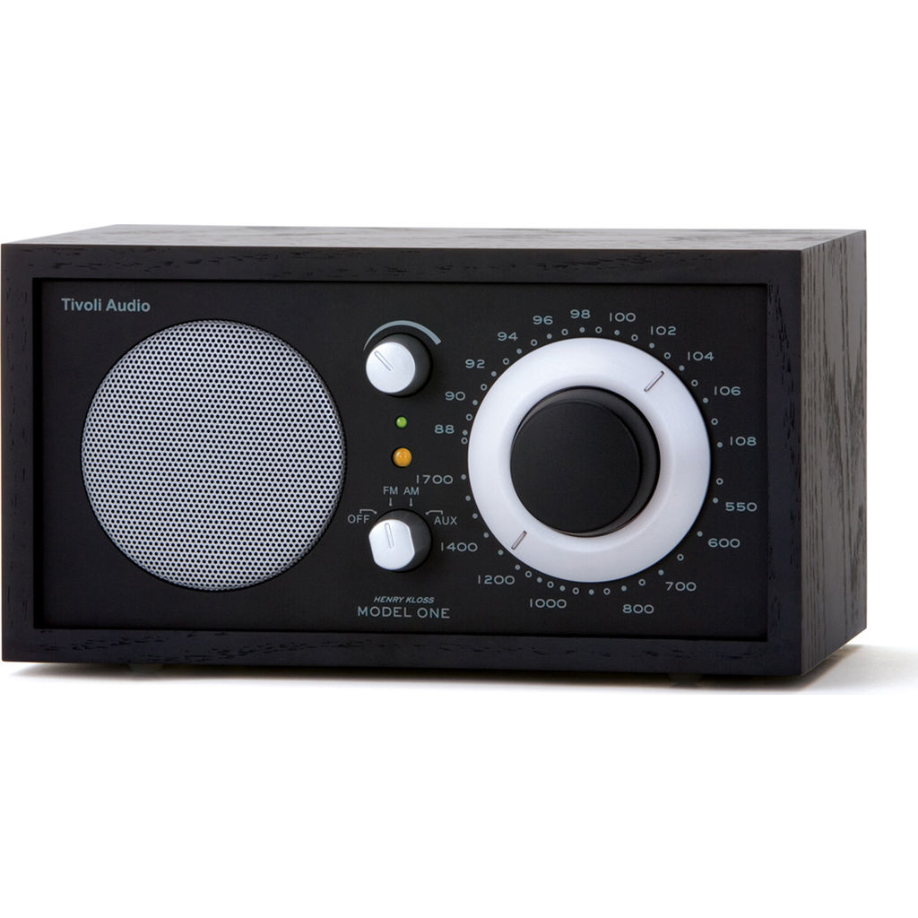 Tivoli Audio Model One Speaker Radio | Black M1BBS