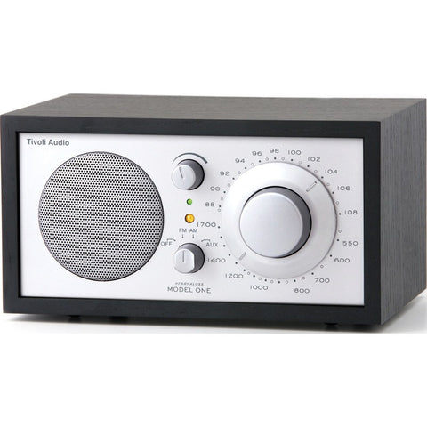 Tivoli Audio Model One Speaker Radio | Black/Silver M1SLB