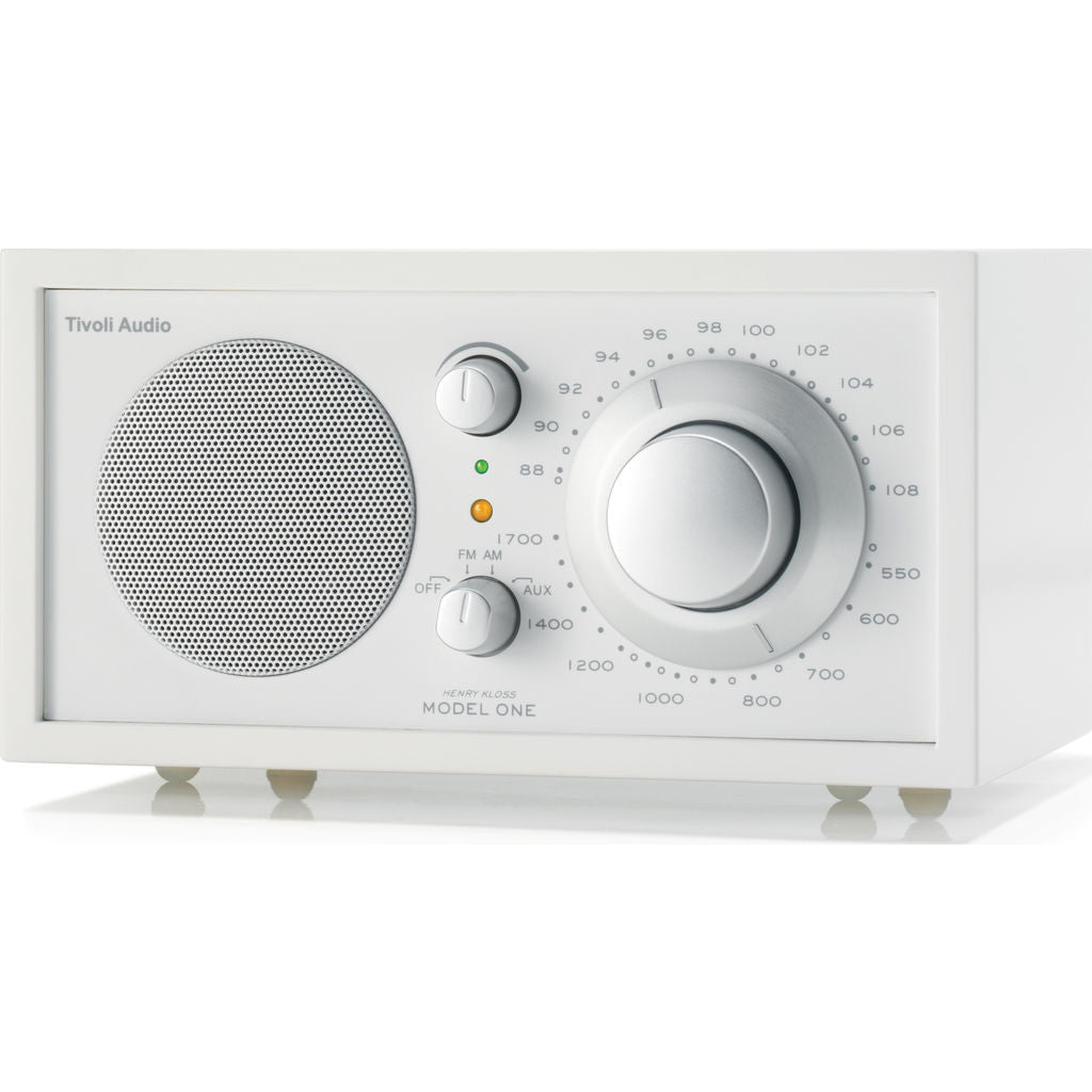 Tivoli Audio Model One Speaker Radio | White M1WHT