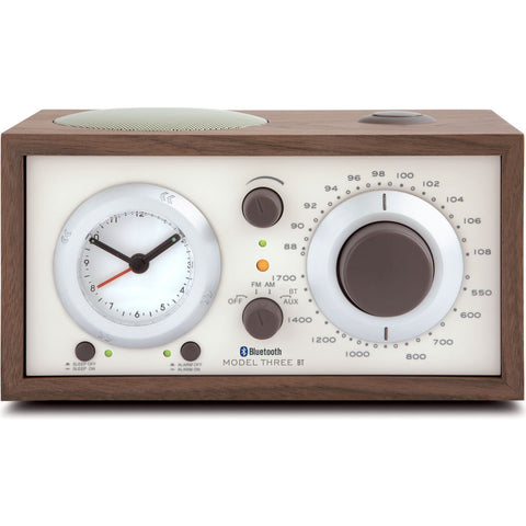 Tivoli Audio Model Three Bluetooth Speaker Clock Radio | Walnut M3BTCLA