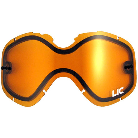 Liquid Image Model 615 Amber Snowcross Lens for Summit, Impact & Sport | S/M