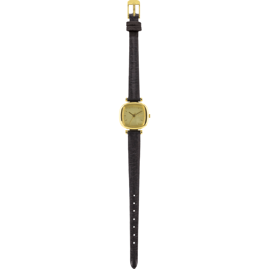 Komono Moneypenny Watch | Gold/Black KOM-W1202