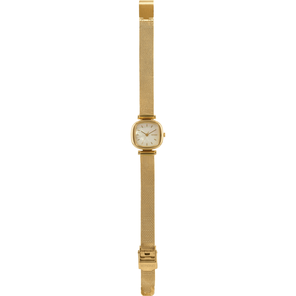Komono Moneypenny Royale Watch | Gold/White KOM-W1245