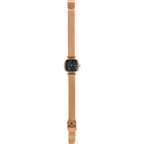 Komono Moneypenny Royale Watch | Rose Gold/Black KOM-W1244