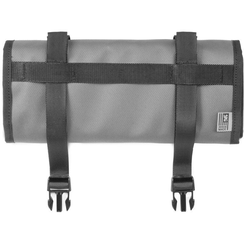 Chrome Motor Tool Utility Roll Up Bag | Black