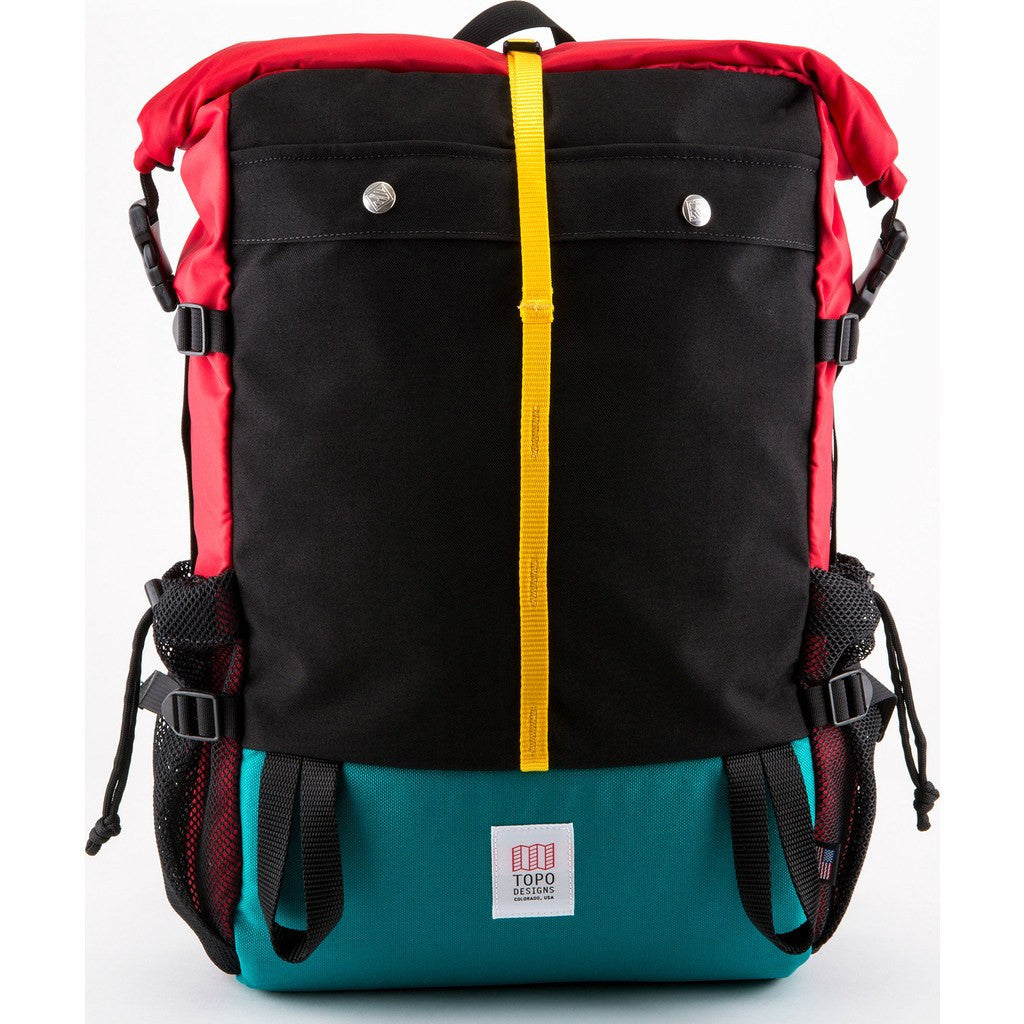 Topo Designs Mountain Roll Top Backpack | Red