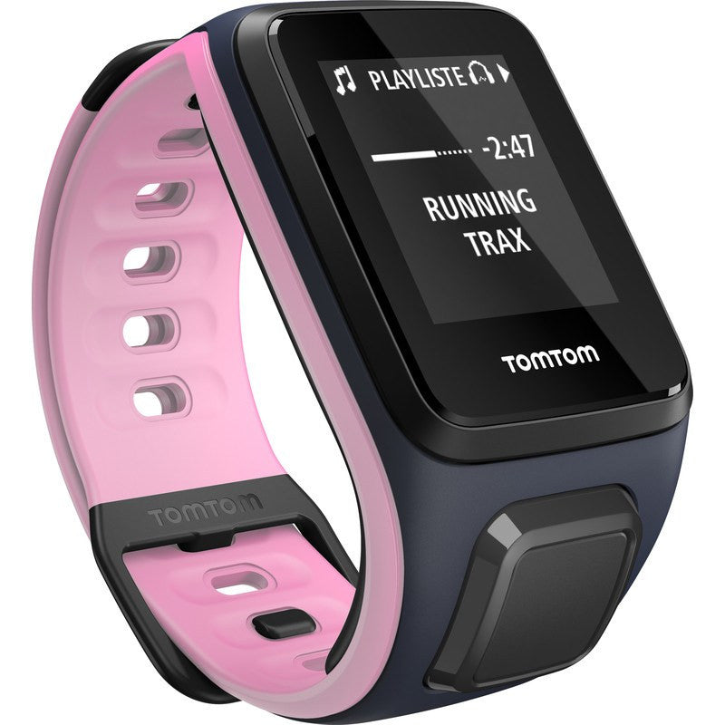 TomTom Spark Music Small Watch | Sky Captain/ Pink 1REM.002.10