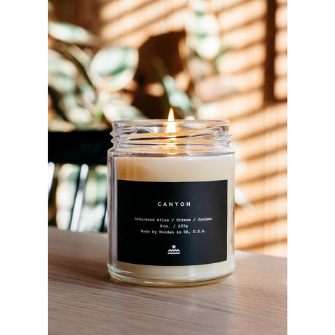 Norden Goods Canyon Jar Candle | 8 Oz