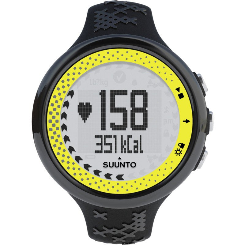 Suunto M5 Heart Rate Monitor | Black/Lime SS19863000