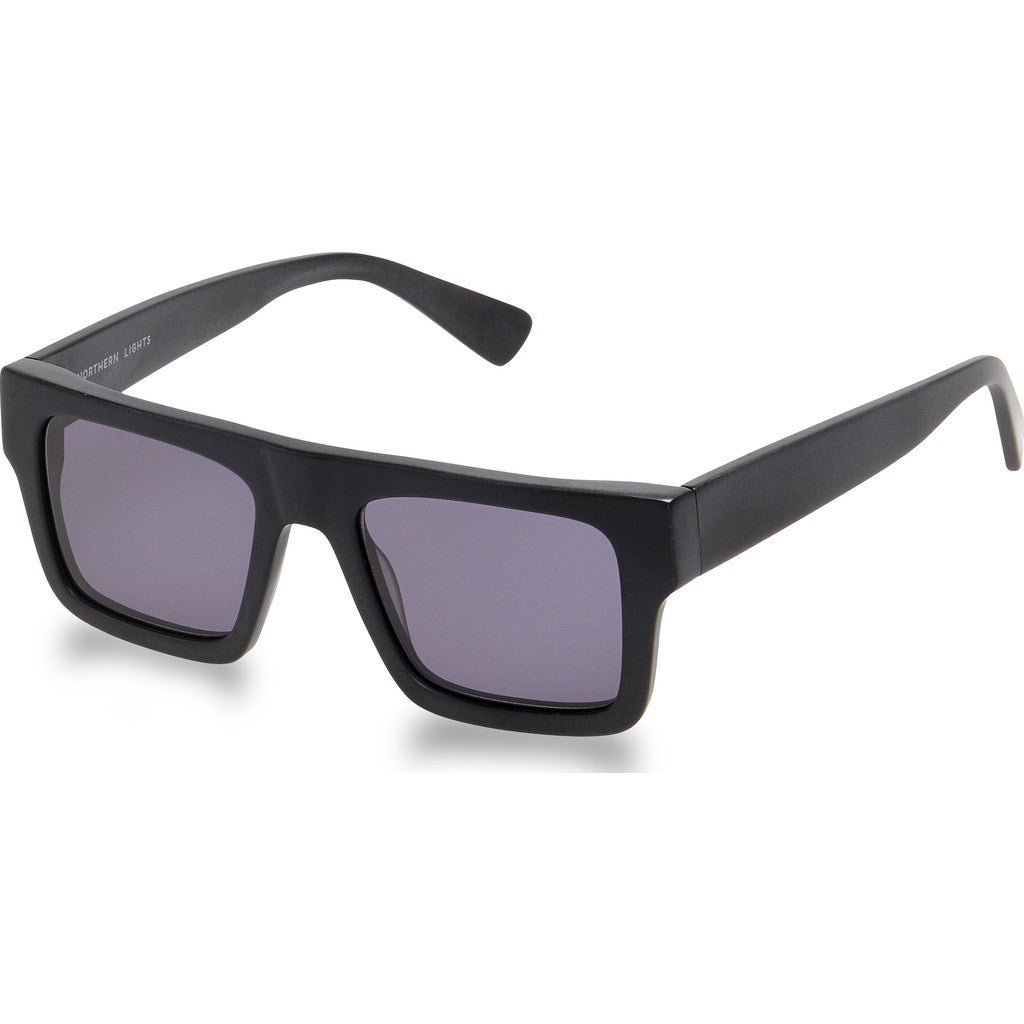 Northern Lights NL1 Matte Black Sunglasses | Gray