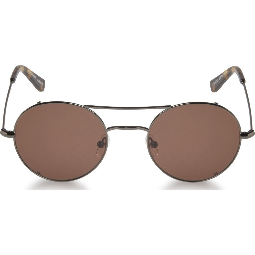 Northern Lights NL12L Gun Metal Sunglasses | Brown NL12L-038-BRN