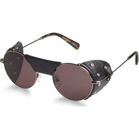 Northern Lights NL12S Gun Metal Sunglasses | Brown NL12S-035-BRN