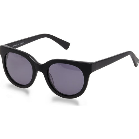 Northern Lights NL14 Matte Black Sunglasses | Gray NL14-022-GRY