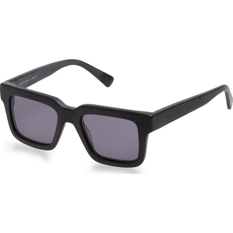 Northern Lights NL15 Matte Black Sunglasses | Gray NL15-024-GRY