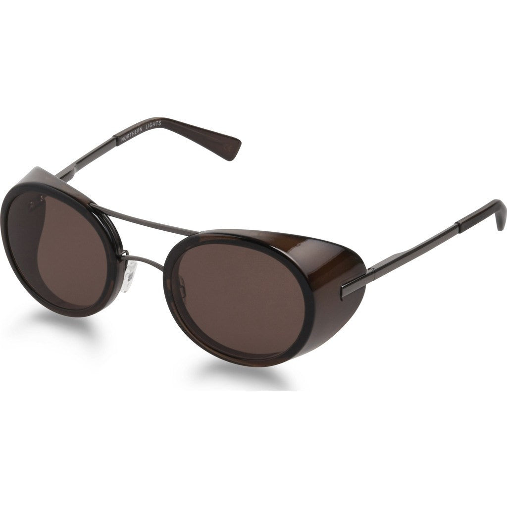 Northern Lights NL16 Gun Metal Sunglasses | Brown NL16-044-BRN