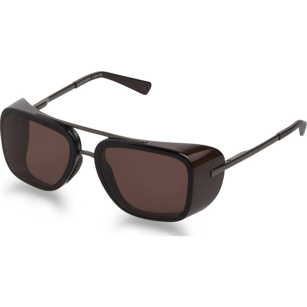 Northern Lights NL17 Gun Metal Sunglasses | Brown NL17-046-BRN