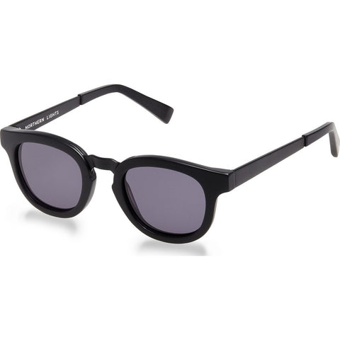 Northern Lights NL2 Matte Black Sunglasses | Gray NL2-006-GRY