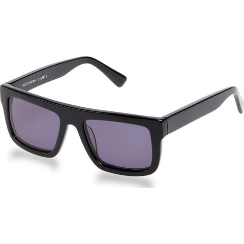 Northern Lights NL3 Gloss Black Sunglasses | Gray NL3-007-GRY
