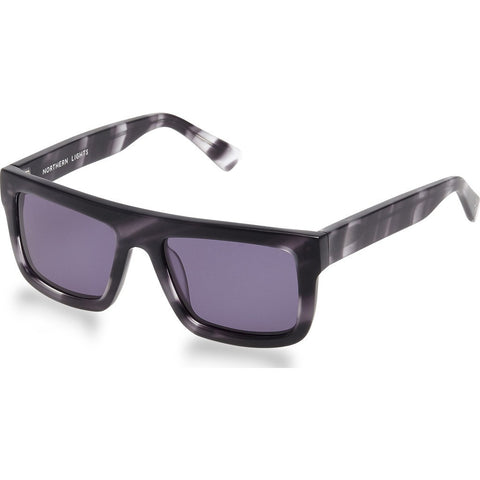 Northern Lights NL3 Matte Horn Sunglasses | Gray NL3-008-GRY