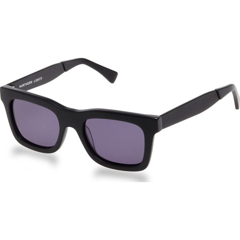 Northern Lights NL5 Matte Black Sunglasses | Gray NL5-011-GRY