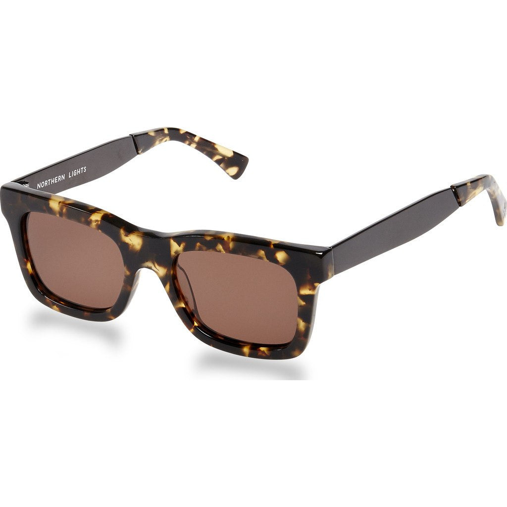 Northern Lights NL5 Solar Tortoise Sunglasses | Brown NL5-012-BRN