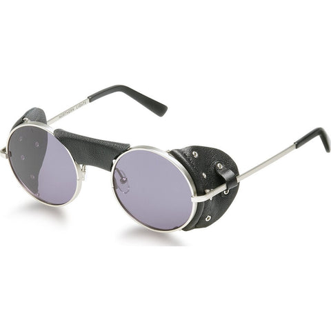 Northern Lights NL6 Matte Silver Sunglasses | Grey NL6-013-GRY