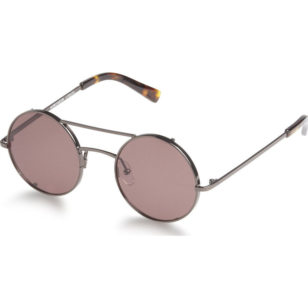 Northern Lights NL6 Gun Metal Sunglasses | Brown NL6-029-BRN