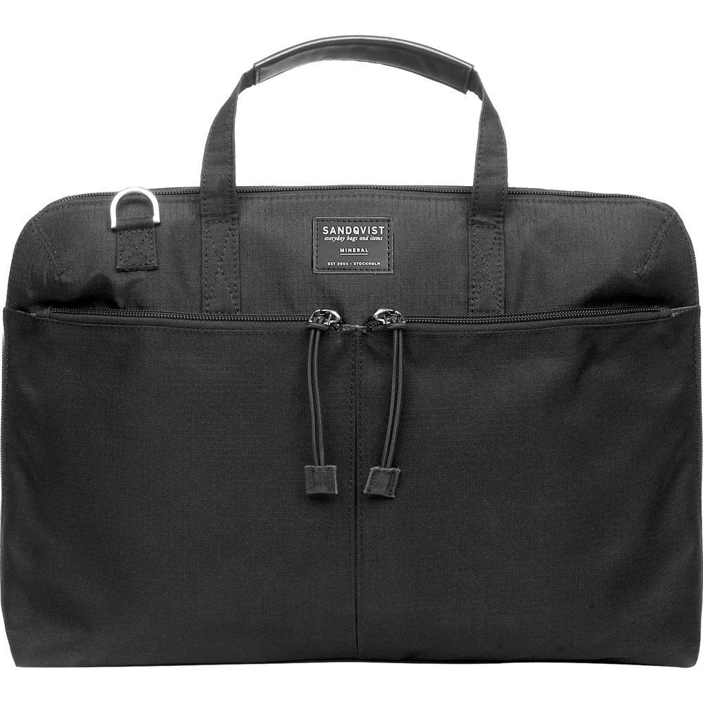 Sandqvist Noel Laptop Briefcase | Black SQA513