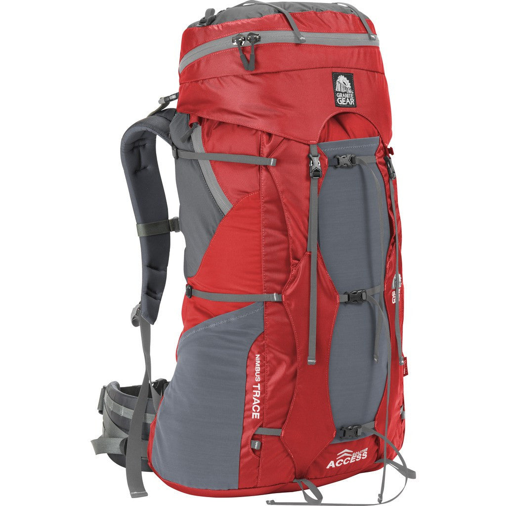 Granite Gear Nimbus Trace Access 60 Ki Regular Torso Pack | Red/Moonmist 56420-2003