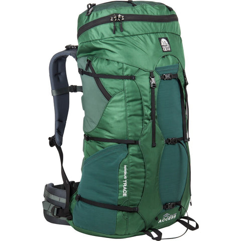 Granite Gear Nimbus Trace Access 70 Multi-Day Pack | Fern/Boreal/Black/Dark Slate 56510-4005/56520-4005