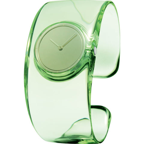 "Issey Miyake ""O"" Light Green Watch 