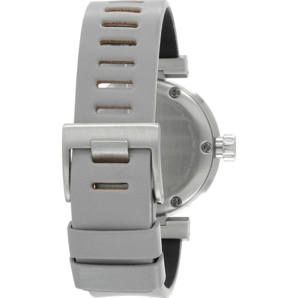 Issey Miyake W-Mini Grey Watch | Grey Leather Nyab002Y