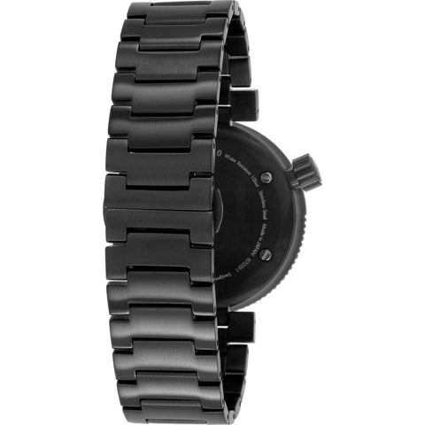 Issey Miyake W Black Automatic Watch | Black Steel 86015 76922 NYAE701Y