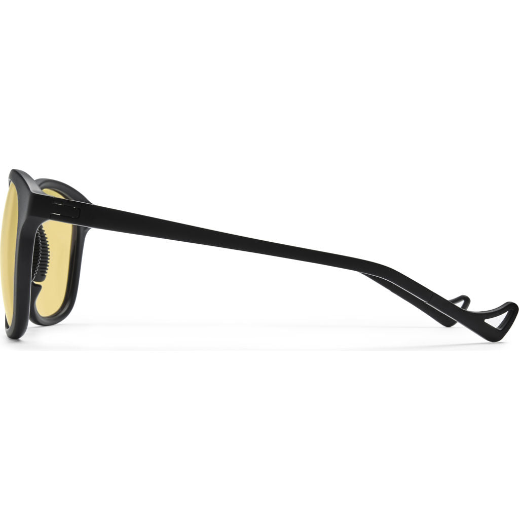 District Vision Nako Black Sunglasses | District Sports Yellow