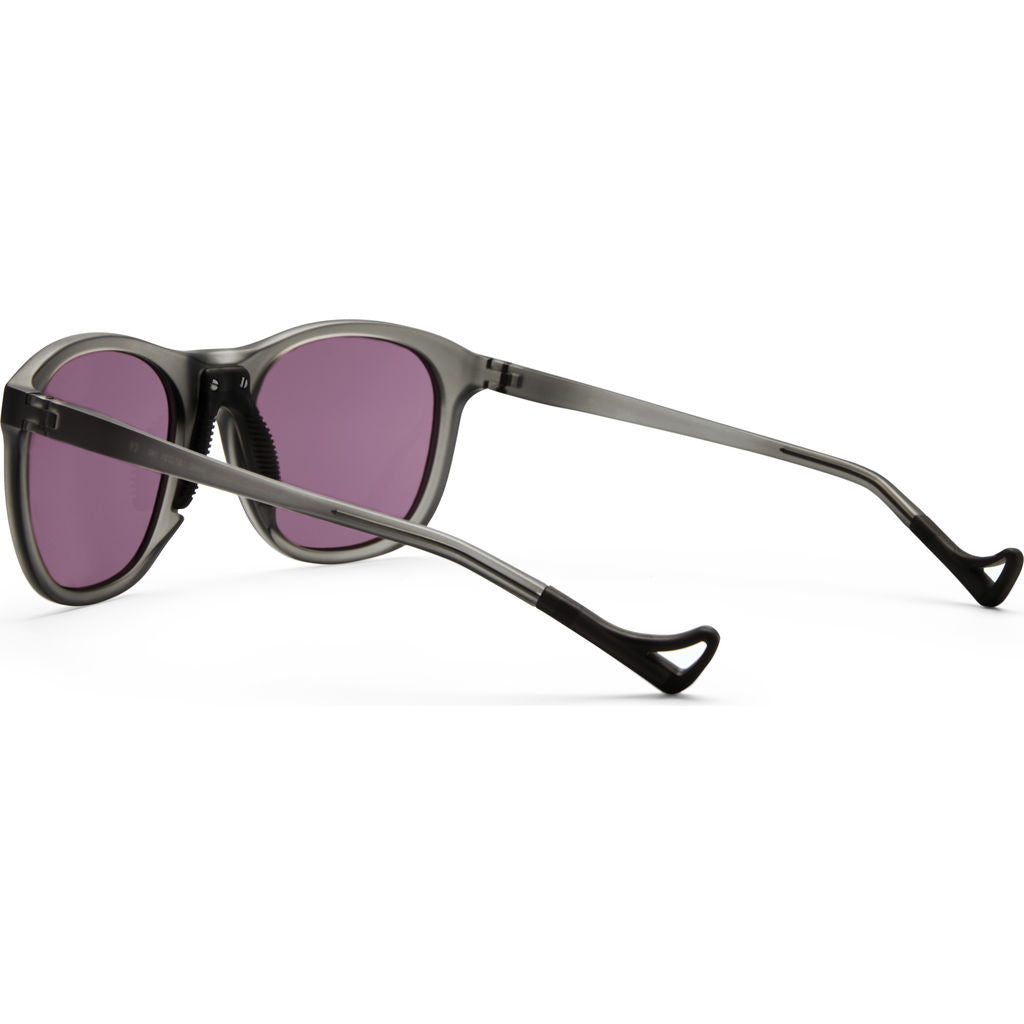 District Vision Nako Gray Sunglasses | District Black Rose