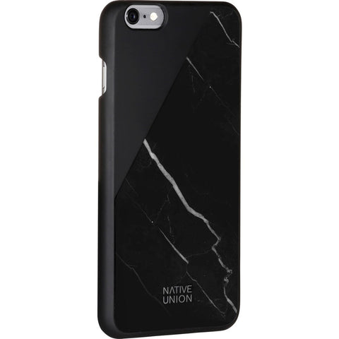 Native Union CLIC Marble Case for iPhone 7+ | Black/Grey CLIC-BLK-MBMT-7P