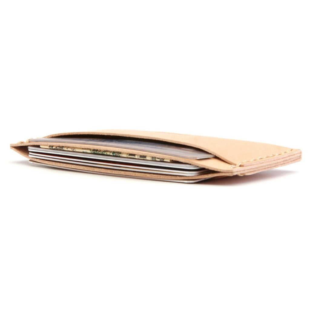 Ezra Arthur No. 3 Wallet | Natural CW312