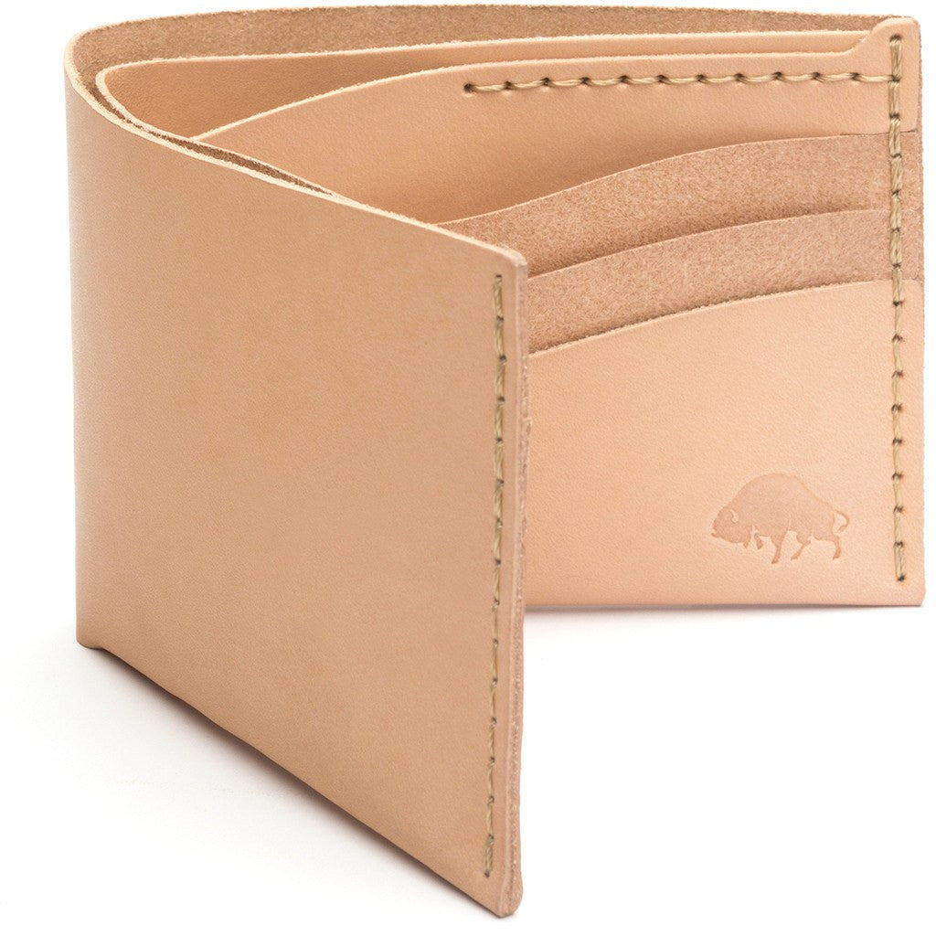 Ezra Arthur No. 8 Wallet | Natural CW812
