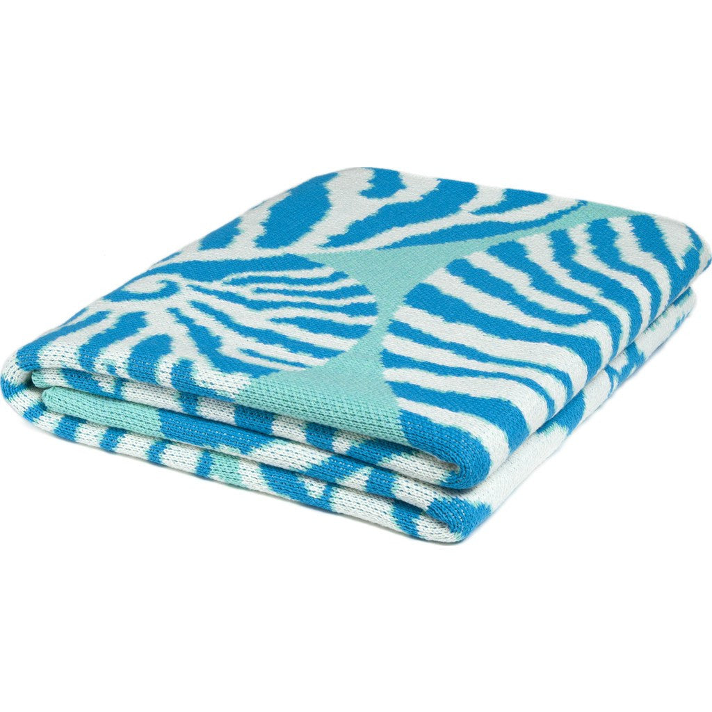 in2green Nautilus Eco Throw | Seafoam/Turquoise BL01NT4