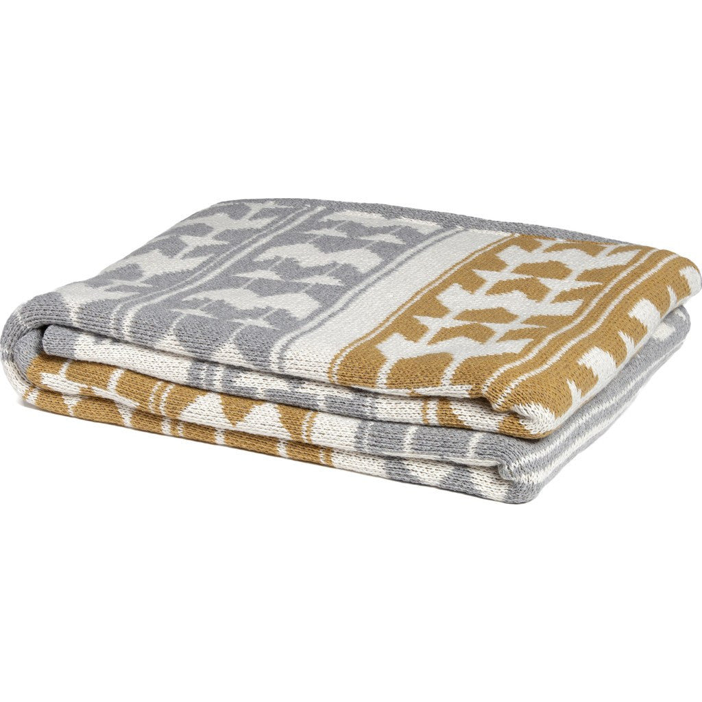 in2green Navajo Eco Throw | Aluminum/Straw BL01IN2