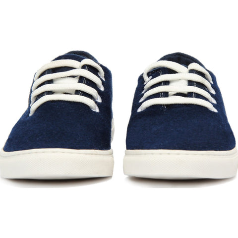 Baabuk Wool Sneaker | Navy Blue/White 38