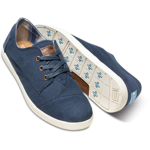 TOMS Paseos Shoes | Navy Canvas