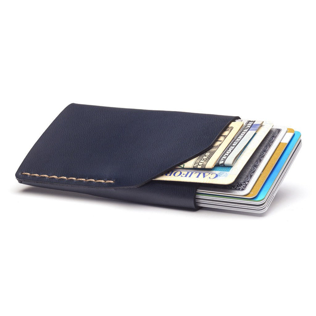 Ezra Arthur No. 2 Wallet | Navy CW223