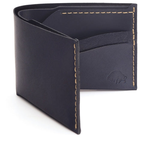 Ezra Arthur No. 6 Wallet | Navy CW623