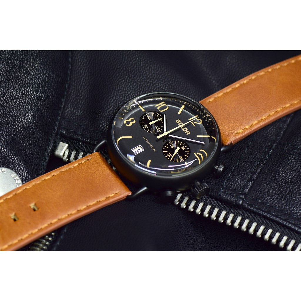BOLDR Journey Chronograph Nighthawk Watch Black
