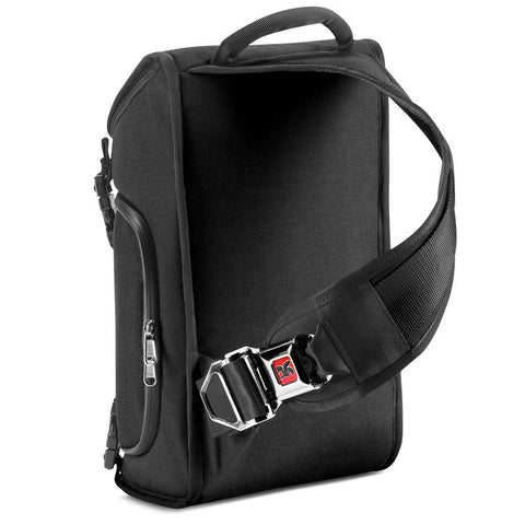Chrome Niko Messenger Bag | Black/Black