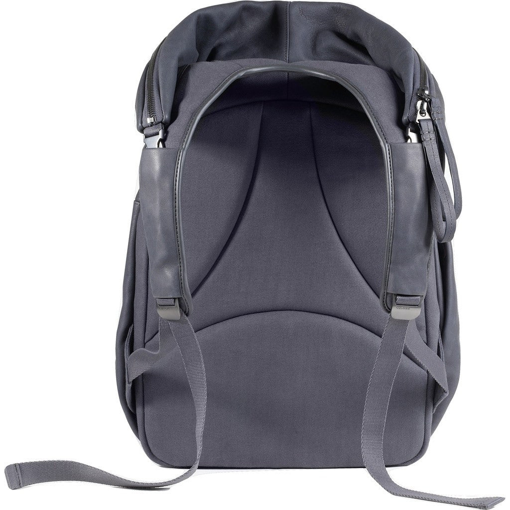 Cote&Ciel Nile Alias Cowhide Leather Backpack | Graphite Grey 28389