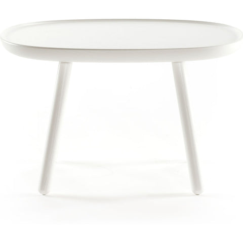 EMKO Na•ve Rectangular Side Table L610 | White Nrec610white